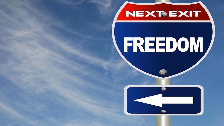 Ryder Freedom Sign